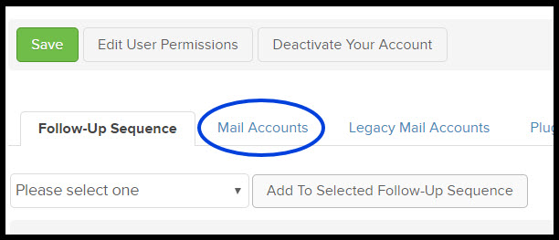 sync email accounts