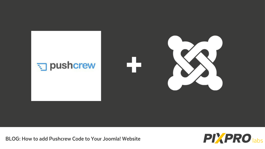 Add Pushcrew to your Joomla! website