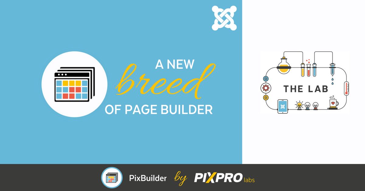 Introducing PixBuilder, a new breed of page builder.