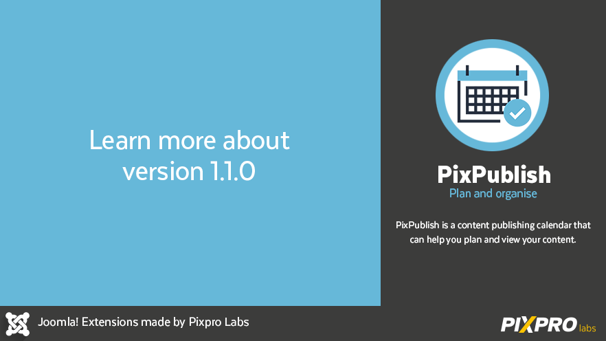 New version of PixPublish
