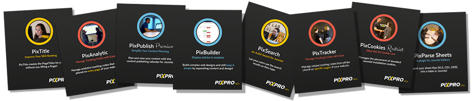 The PixPremium Bundle includes all of the Pixpro Labs extensions.